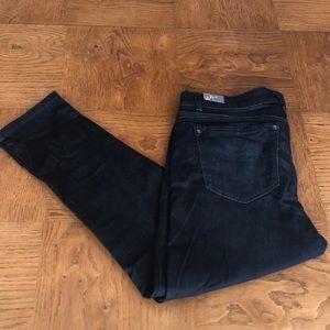 Wit & Wisdom Dark Wash Cropped Jeans Size 16
